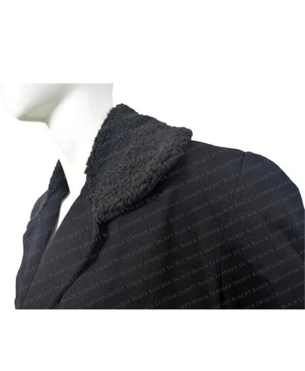 Black Coat Collar
