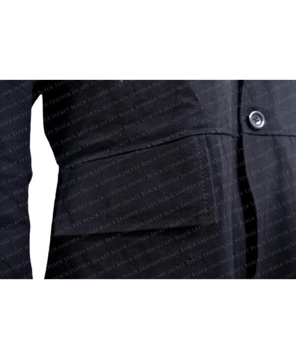 Black Coat Pocket