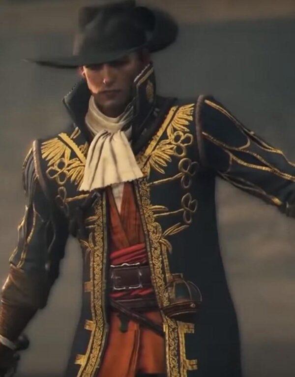 Vasco Greedfall Black and Golden Coat