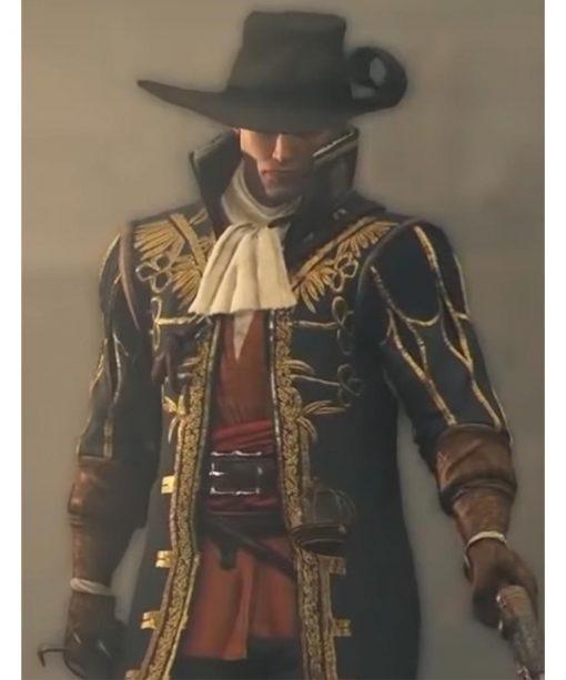 Vasco Black Greedfall Coat