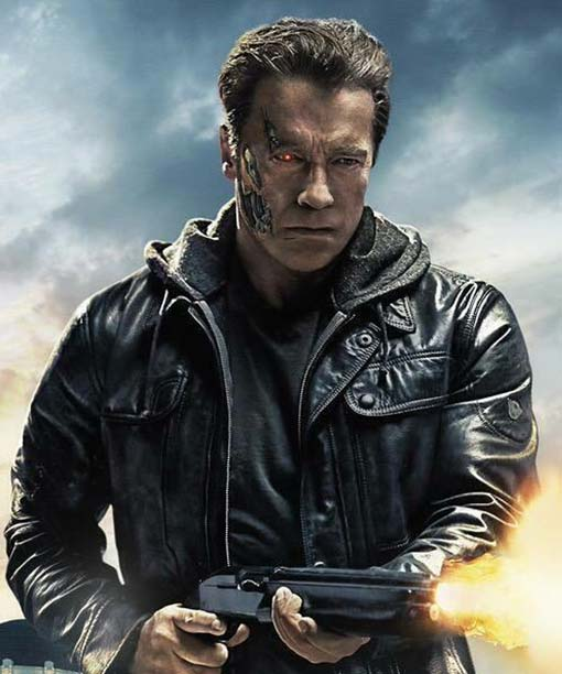 Terminator Genisys Guardian Motorcycle Jacket