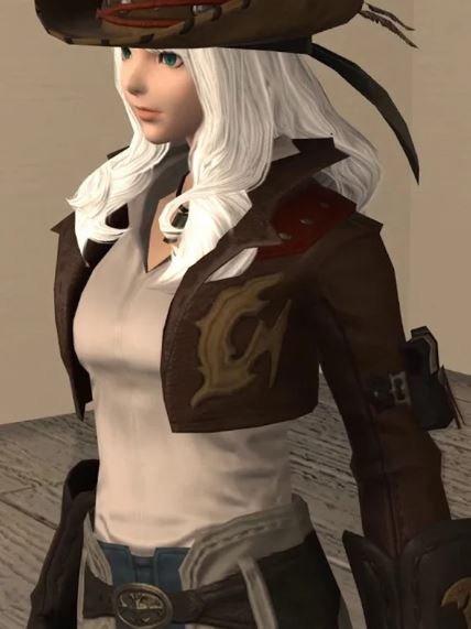 Gyuki Brown Video Game Jacket