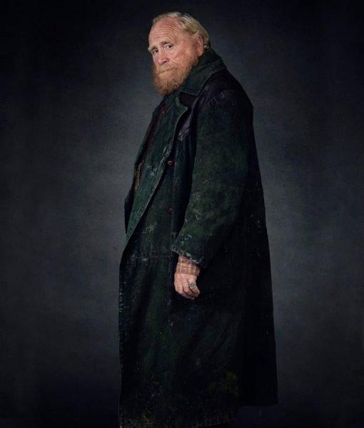 Farder Coram His Dark Materials Leather Coat