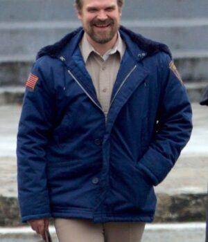 Stranger Things Jim Hopper Blue Jacket