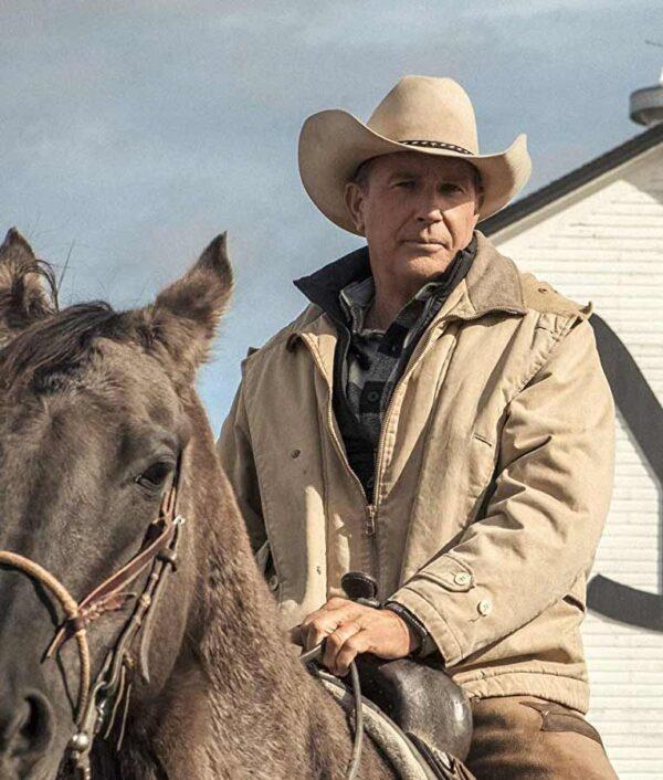 Yellowstone John Dutton Beige Jacket