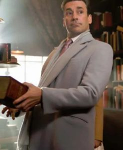 Good Omens Jon Hamm Grey Coat