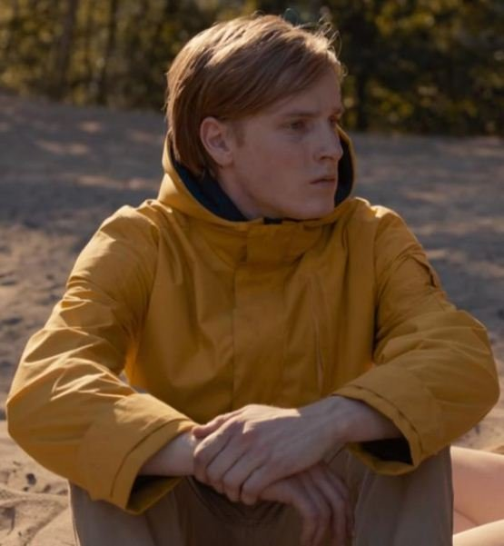 Louis Hofmann Jonas Kahnwald Yellow Hoodie Coat