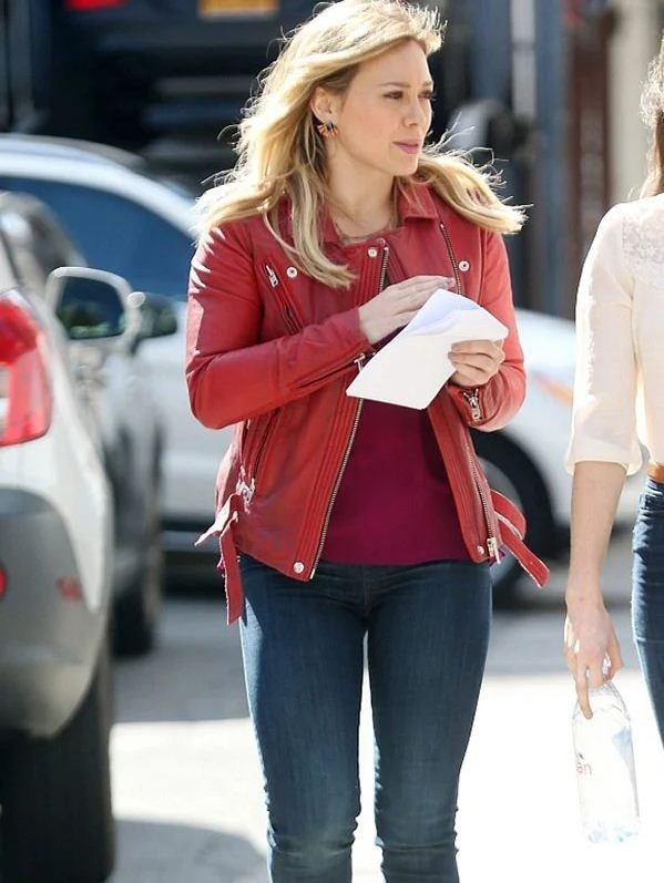 Younger Kelsey Peters Red Jacket
