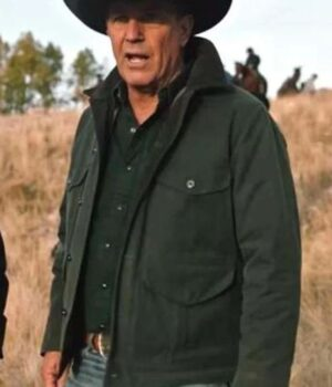 Yellowstone Season 2 Kevin Costner Cotton Jacket