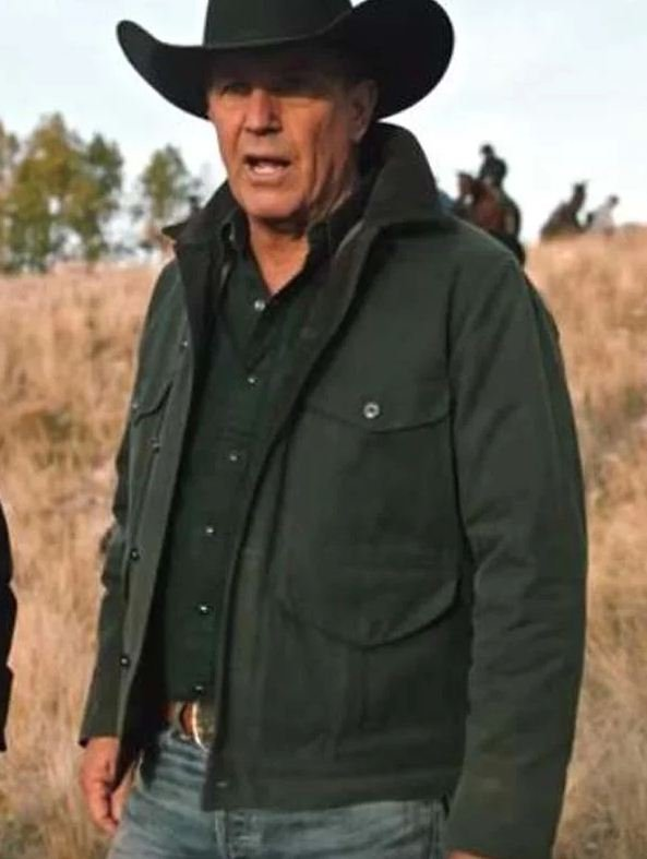 Yellowstone Season 2 Kevin Costner Cotton Jacket