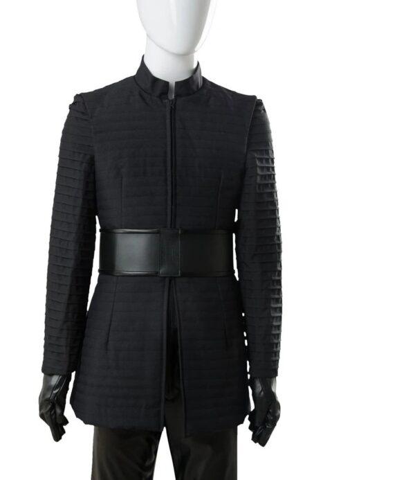 Star Wars The Last Jedi Kylo Ren Black Cotton Jacket