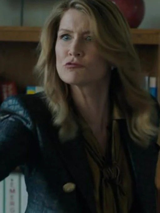 Big Little Lies Laura Dern Leather Jacket