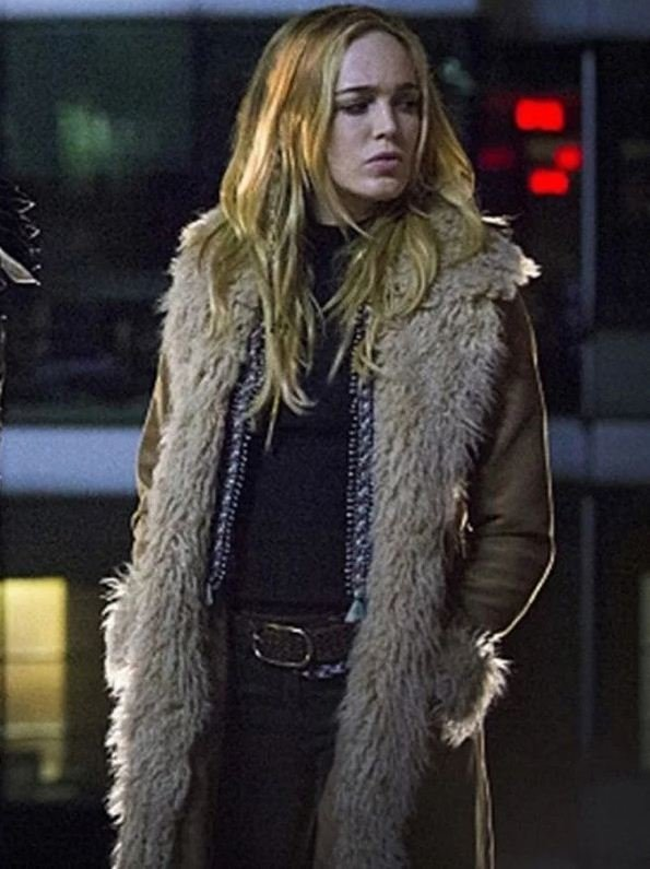 Sara Lance Legends of Tomorrow Cotton Coat