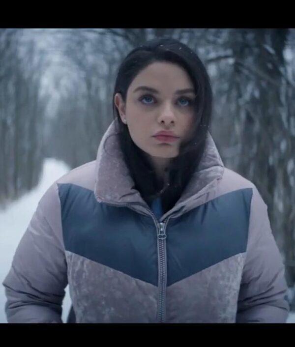 Odeya Rush Let It Snow Puffer Jacket