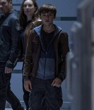 Maxwell Jenkins Lost In Space S02 Brown Jacket