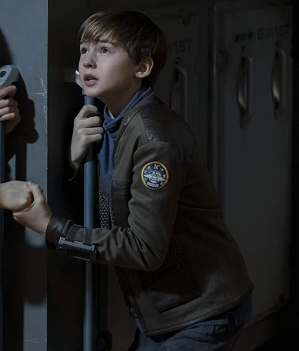 Will Robinson Lost In Space S02 Brown Jacket
