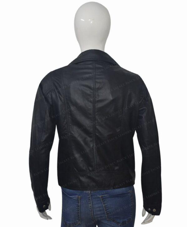 Michaela Stone Manifest Leather Jacket Back