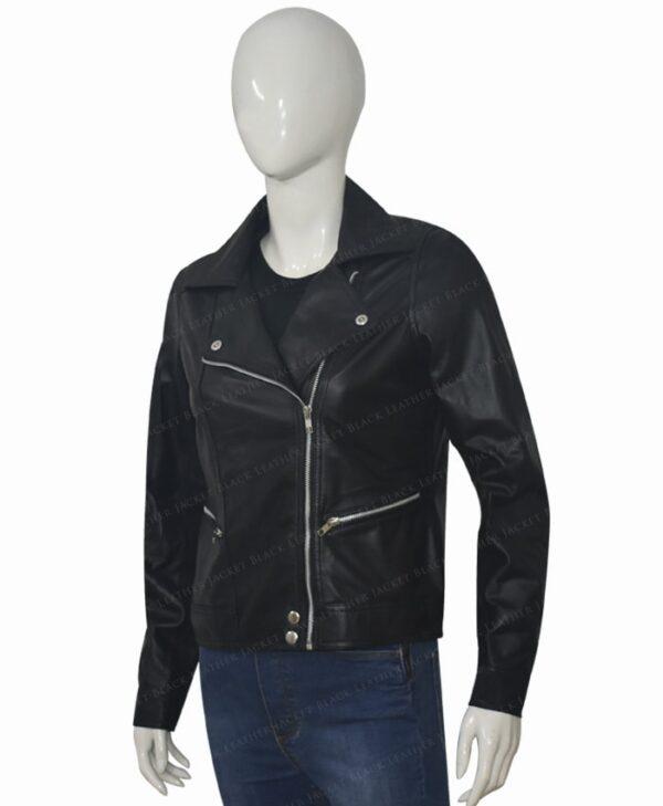 Michaela Stone Manifest Leather Jacket Right