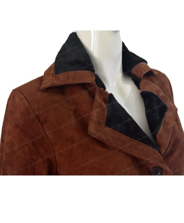 Monica Dutton Yellowstone Brown Coat Half