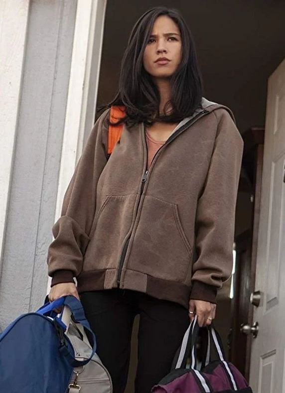 Yellowstone Monica Dutton Hooded Brown Jacket