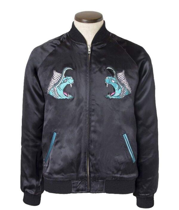 Tatsuhisa Suzuki Final Fantasy XV Bomber Black Jacket