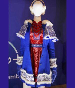 Anna Kendrick Noelle Blue Coat