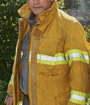 Northern Rescue John West Yellow Cotton Jacket