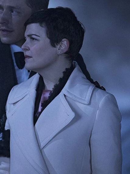 Once Upon a Time Ginnifer Goodwin Trench White Coat