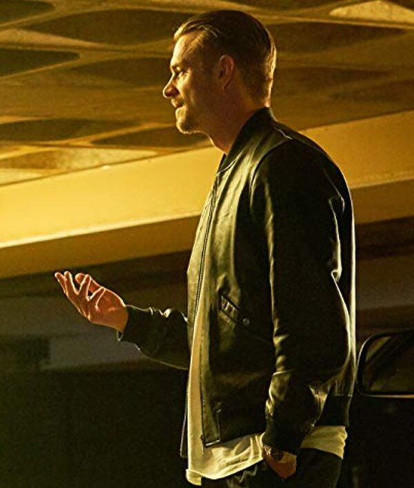 The Informer Pete Koslow Leather Jacket