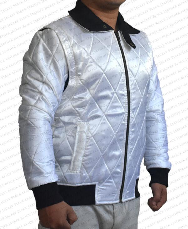 Ryan Gosling Satin Scorpion Drive Jacket right