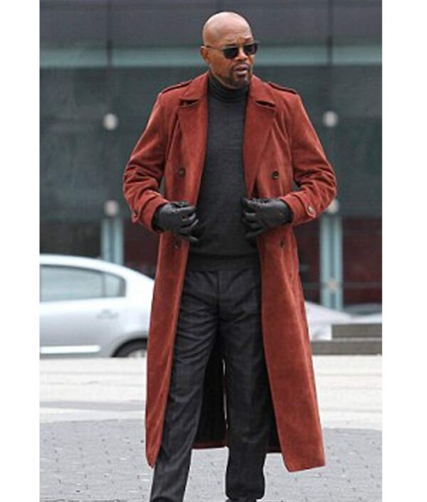Shaft Samuel L. Jackson Leather Coat