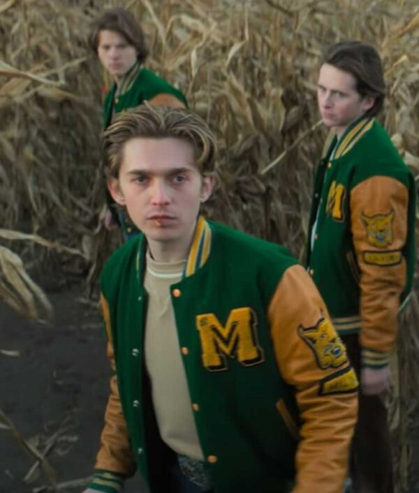 Tommy Milner Scary Stories to Tell In The Dark Varsity Jacket