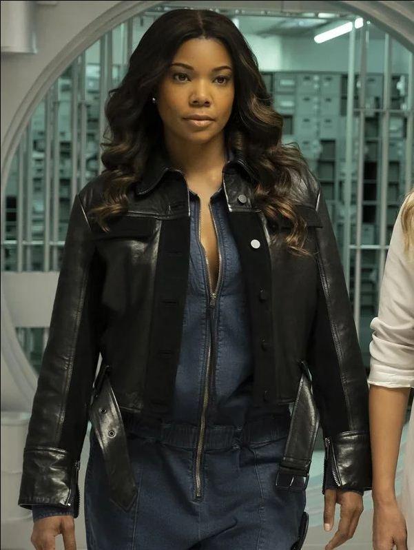 L.A.'s Finest Sydney Burnett Black Jacket