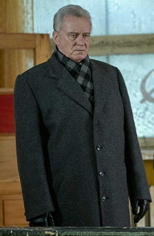TV Series Chernobyl Stellan Skarsgård Black Coat