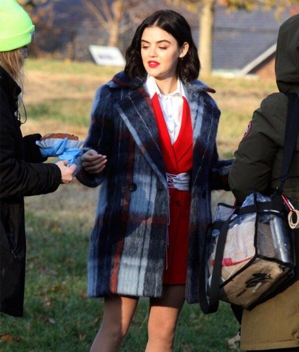 Lucy Hale TV Series Katy Keene Wool Coat