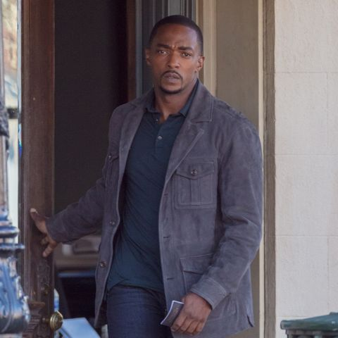 TV Series The Falcon and the Winter Soldier Anthony Mackie Cotton Jacket