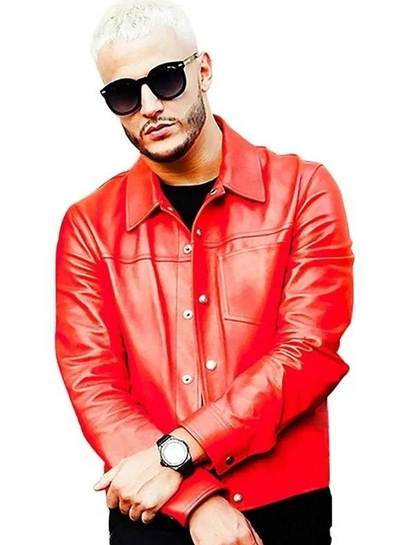 Dj Snake Taki Taki Leather Jacket
