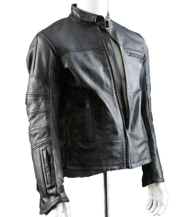 John Connor Terminator Genisys Black Jacket