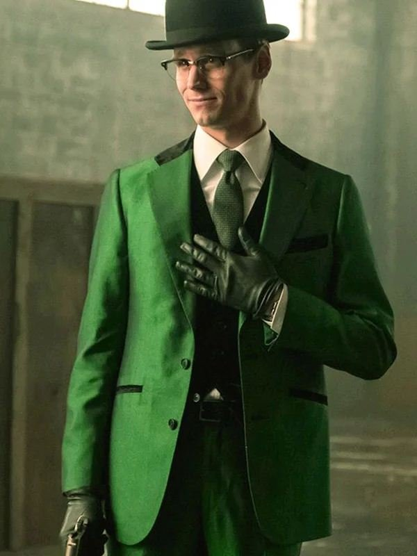 TV Series The Riddler Gotham Green Blazer