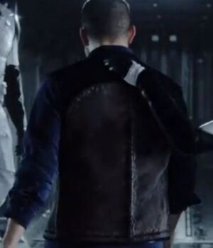 Love Death And Robots Thom Black Leather Vest