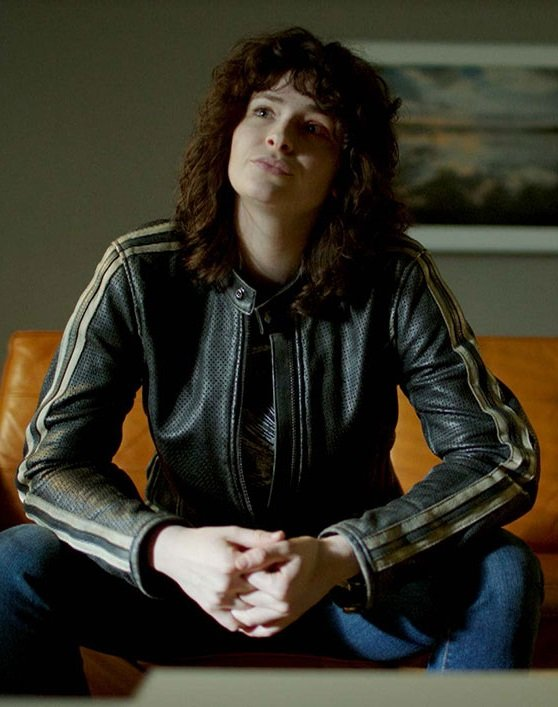 Ashleigh Cummings NOS4A2 Black Leather Jacket