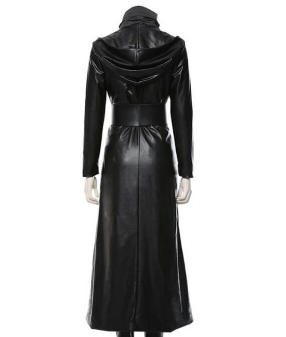 Watchmen Angela Abar Black Leather Coat