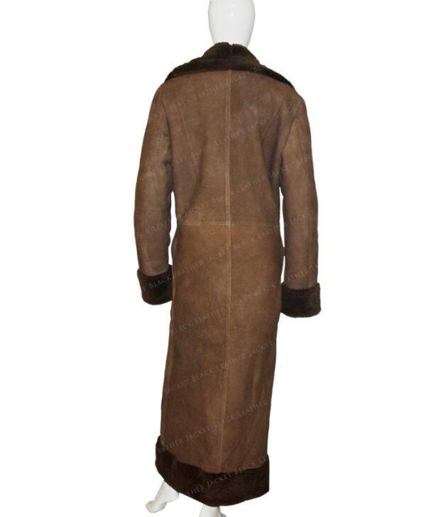 In The Dark Murphy Mason Coat Back