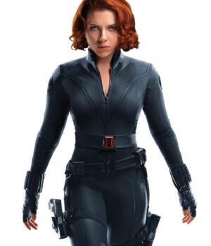 Black Widow Natasha Romanoff Black Jacket