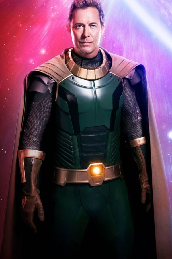 Crisis on Infinite Earths Tom Cavanagh Pariah Green Leather Jacket