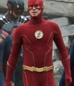 Crisis on Infinite Earths The Flash Jacket