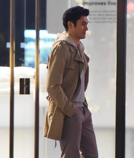 Last Christmas Henry Golding Cotton Coat