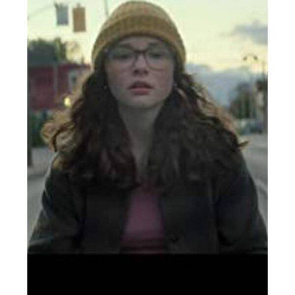 Zoe Margaret Colletti Brown Cotton Jacket