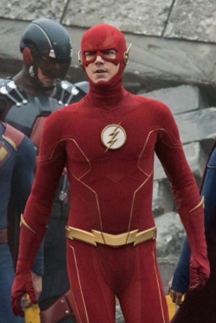 Barry Allen Red Jacket
