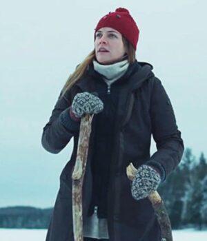 Alicia Silverstone Hooded Coat